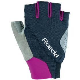 Roeckl Ivory Handschoenen, zwart/violet